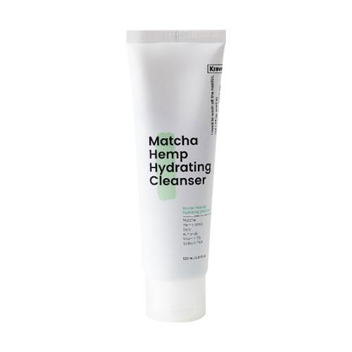 [Kravebeauty] Matcha Hemp Hydrating Cleanser 120ml (Weight : 240g)