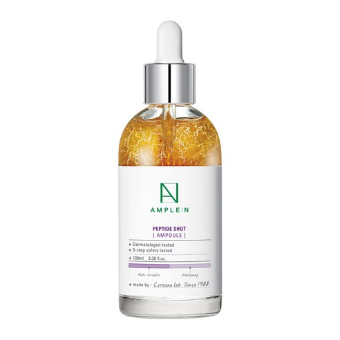 [Ample:N] Peptide Shot Ampoule 100ml (Weight : 280g)