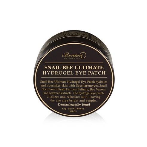 [Benton] Snail Bee Ultimate Hydrogel Eye Patch 1.1g*60ea (Weight : 250g)