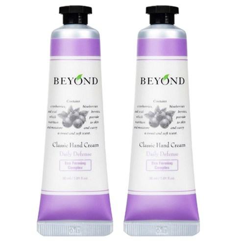 [BEYOND] Classic Hand Cream #Daily Defense 30ml * 2ea (Weight : 180g)