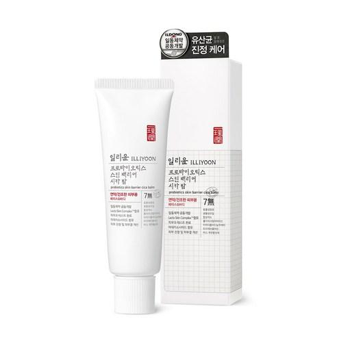 [Illiyoon] Probiotics Skin Barrier Cica Balm 50ml (Weight 80g)