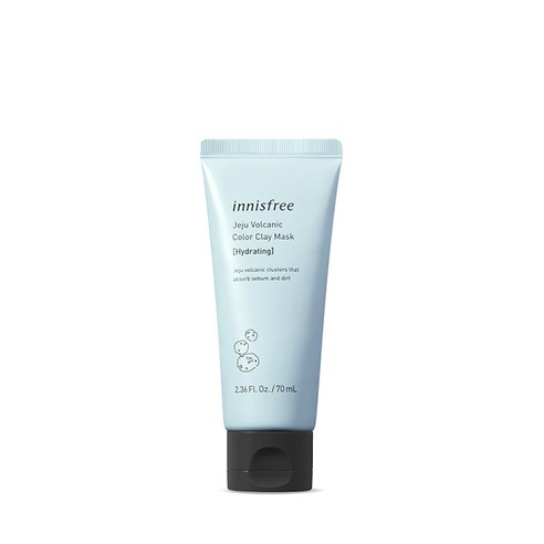[Innisfree] Jeju Volcanic Color Clay Mask #Hydrating 70ml (Weight : 120g)