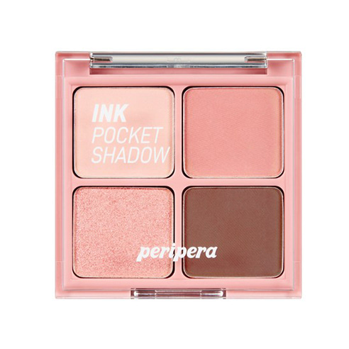 [Peripera] Ink Pocket Shadow Palette #02 Once upon a Pink 2g*4ea (Weight : 45g)
