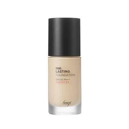 [The Face Shop] Ink Lasting Foundation Slim Fit EX #N201 Apricot Beige 30ml (Weight : 180g)