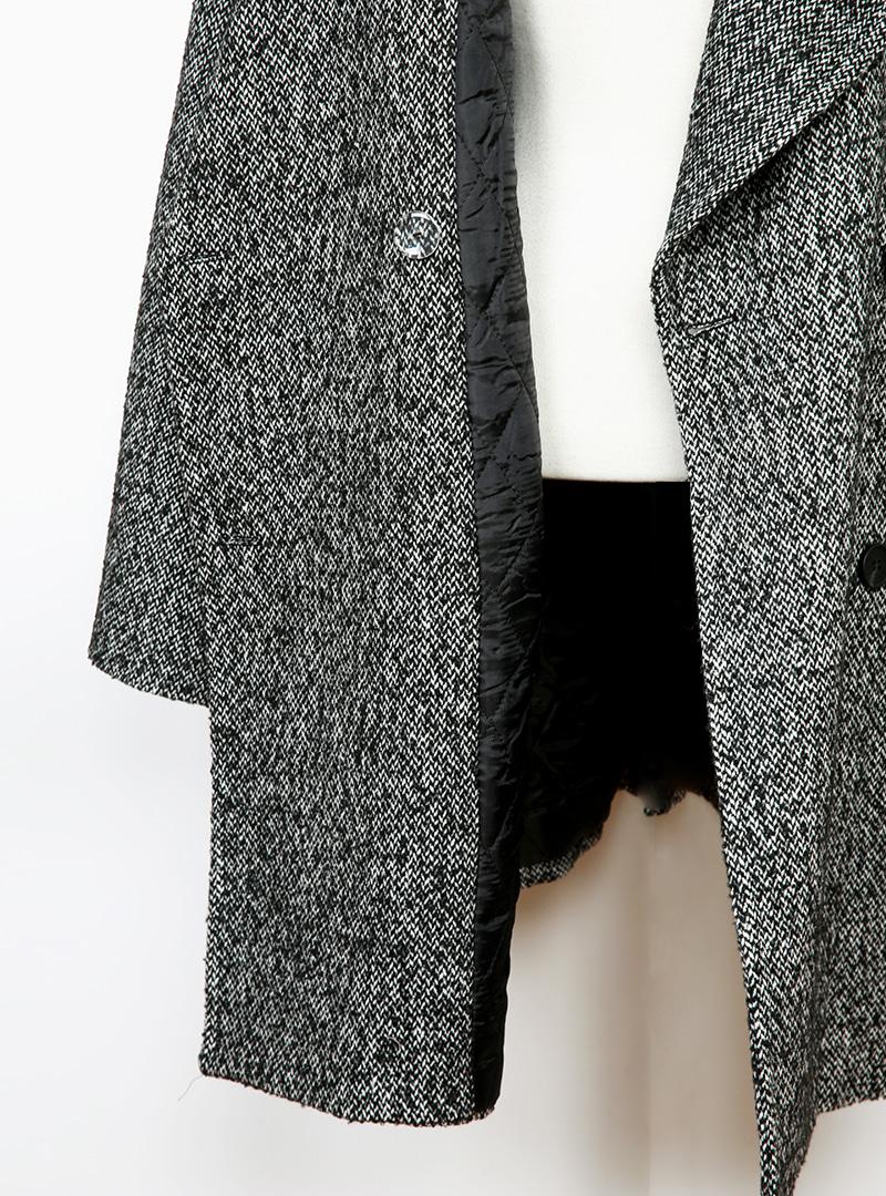 秋冬搶眼雙排釦大翻領大衣