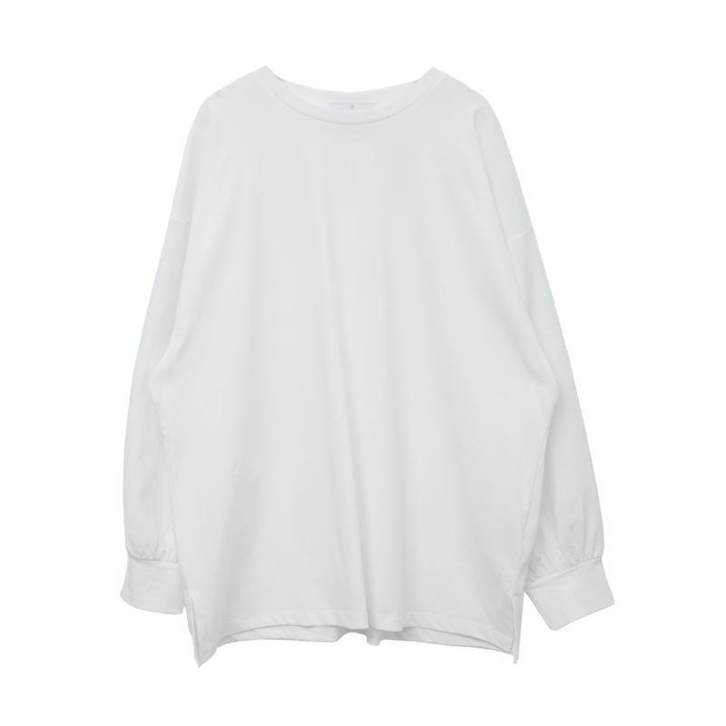 Solid Tone Cotton Blend Sweatshirt