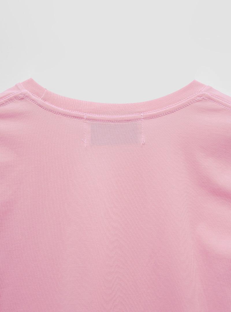 Short Sleeve Cotton Blend T-Shirt