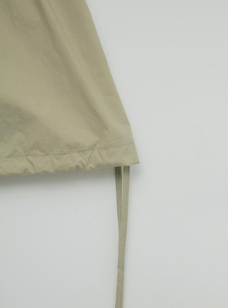 Elastic Waist Layering Mini Skirt