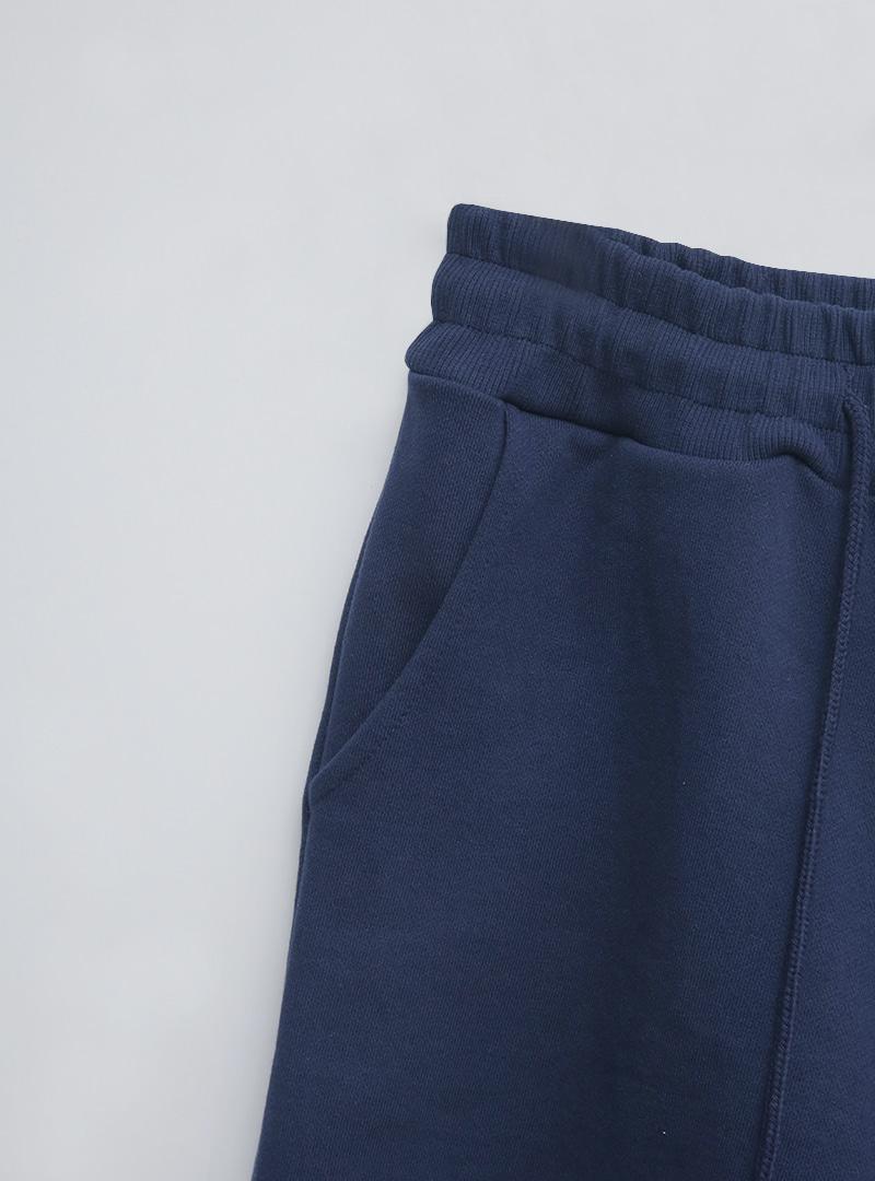 Loose Fit Drawstring Cotton Shorts