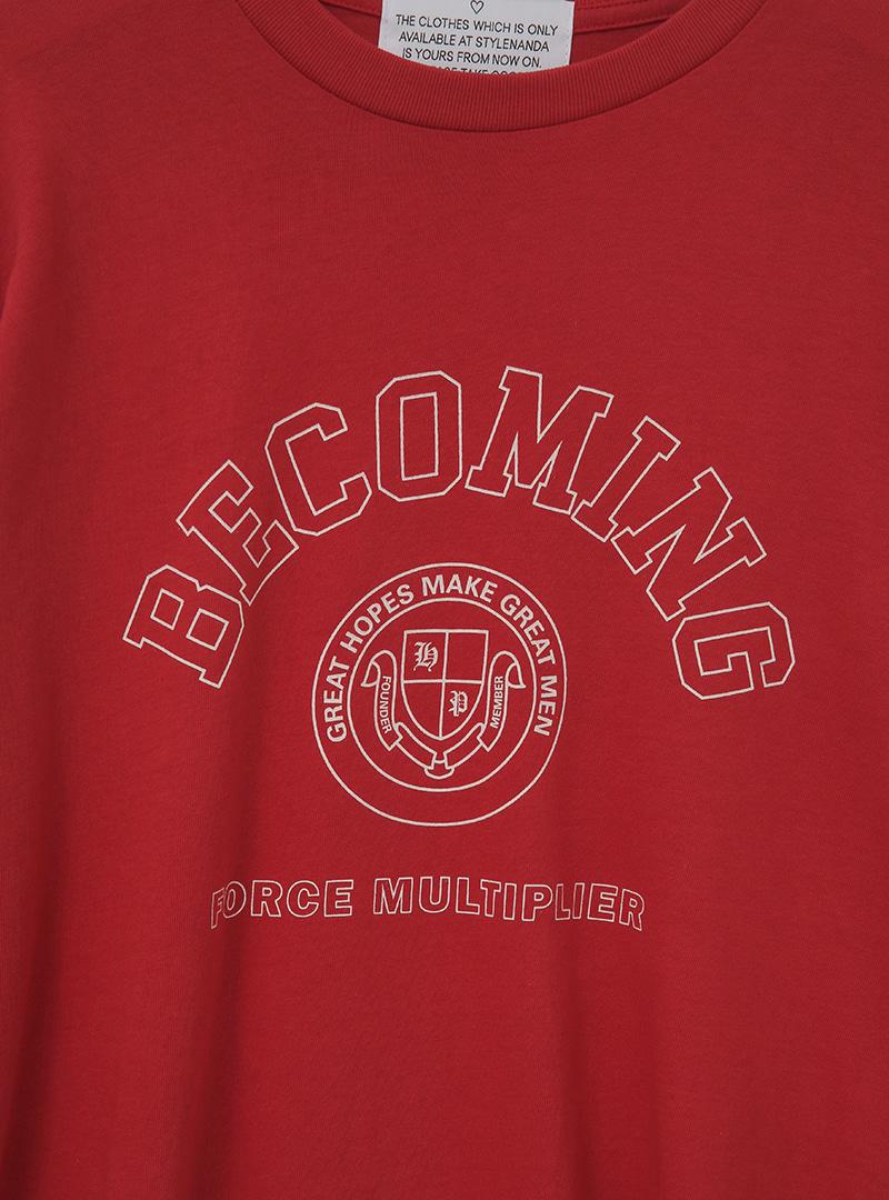 BECOMING Print T-Shirt