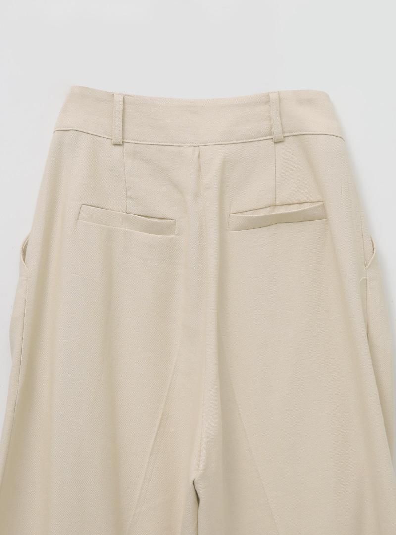 簡單文青風純色西裝寬褲