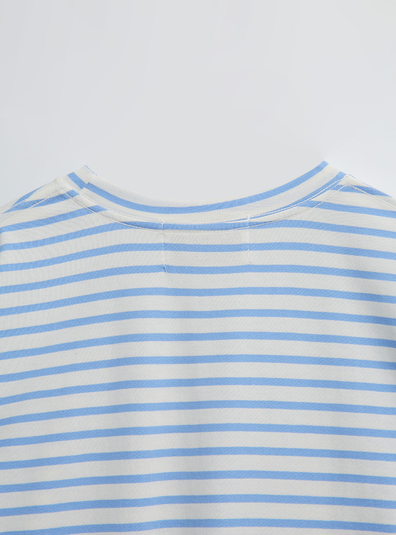 Striped Loose Fit Boxy T-Shirt