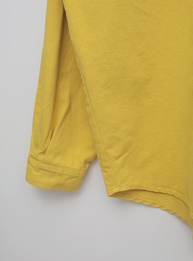 Double Pocket Boxy Shirt