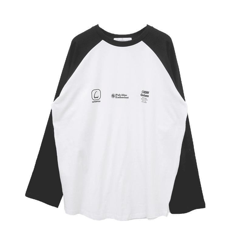 Logo Print Raglan T-Shirt