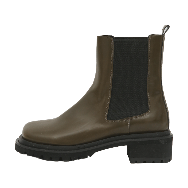 Thick Sole Chelsea Boots