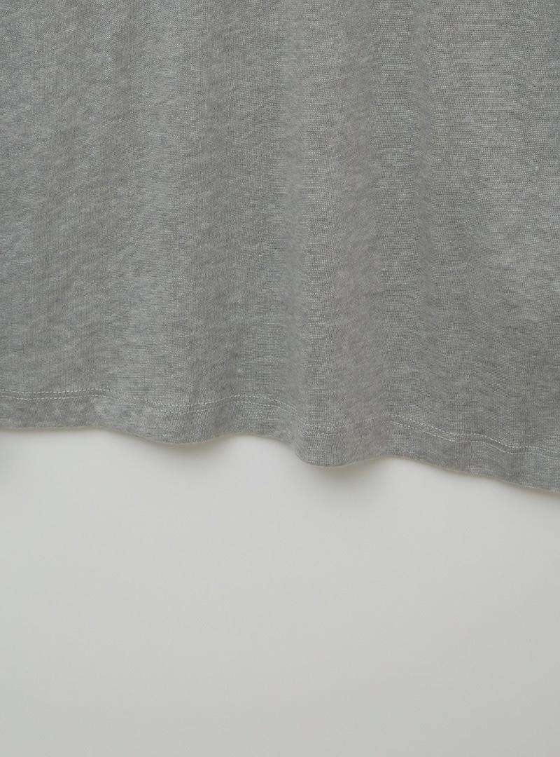Mock Neck Woolen T-Shirt