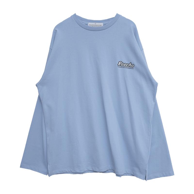 REECHO Print Oversized T-Shirt