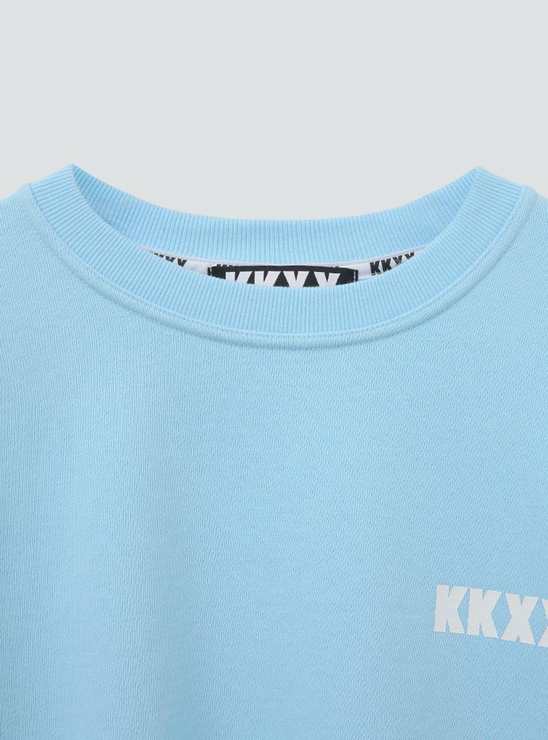 kkxx 나염박시핏 기모맨투맨