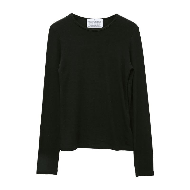 Slim Fit Wool Blend T-Shirt