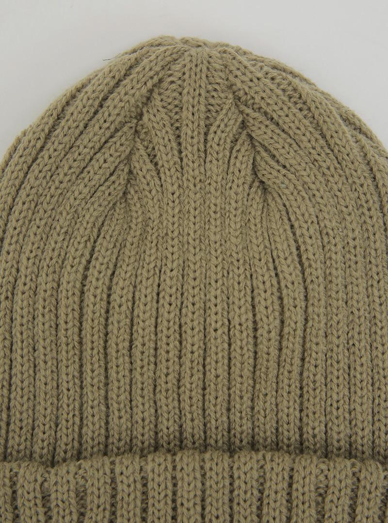 Basic Ribbed Knit Beanie