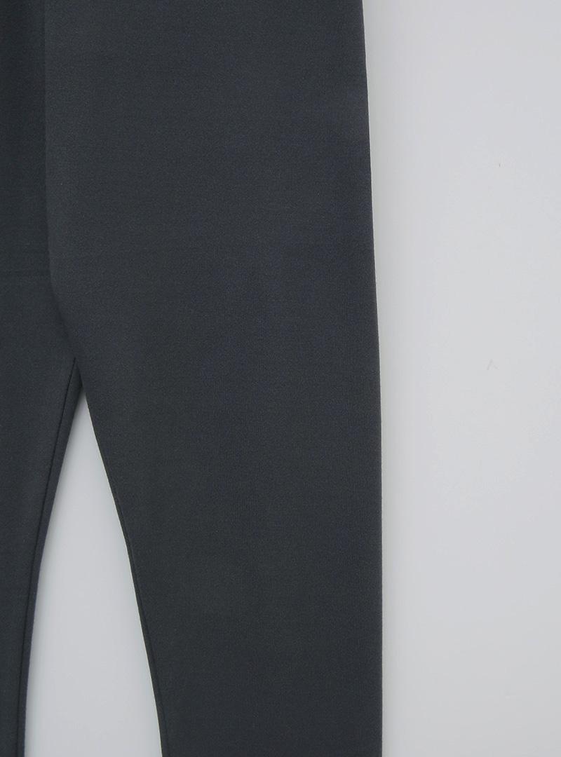 Elastic Waist Solid Tone Leggings
