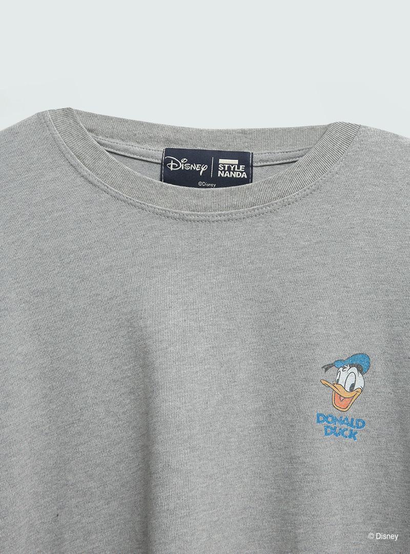 [Disney] 위트덕프레임 빈티지박시T