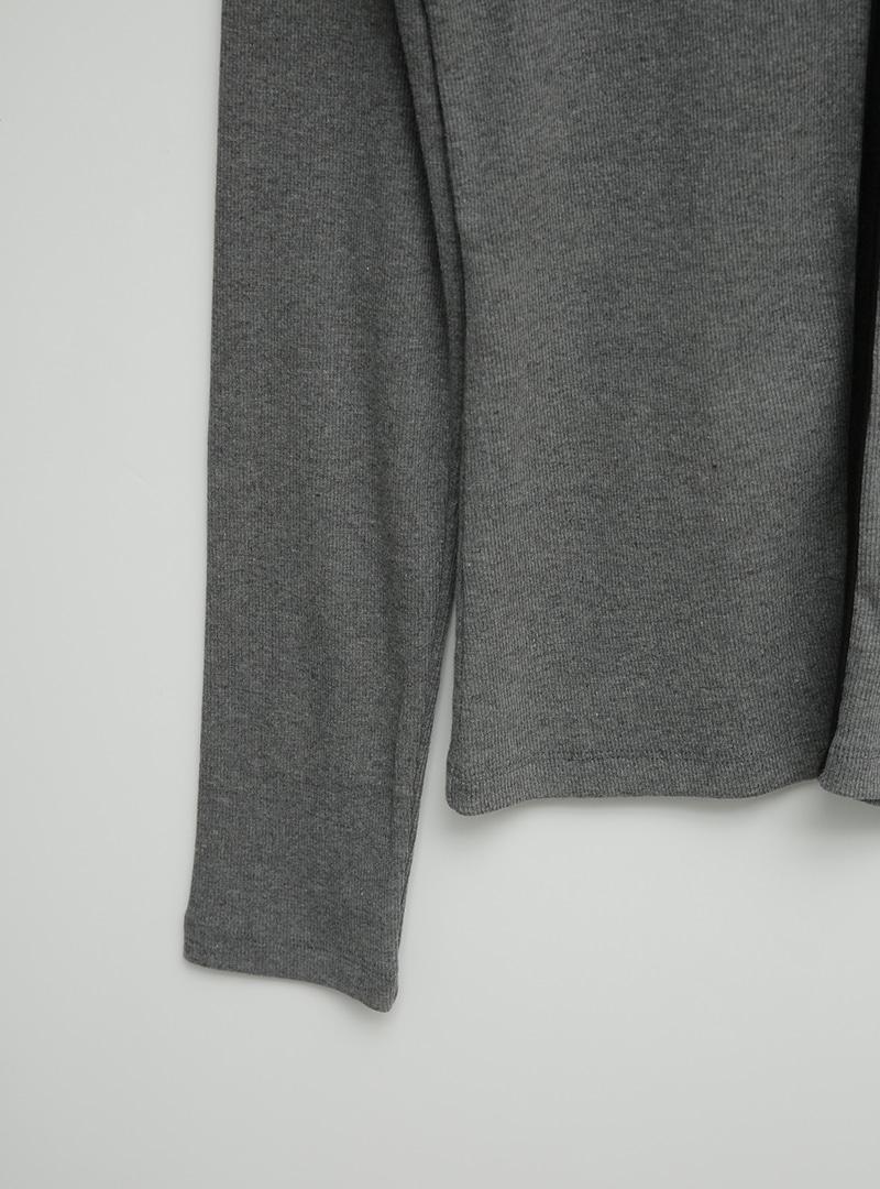 Contrast Trim Scoop Neck T-Shirt