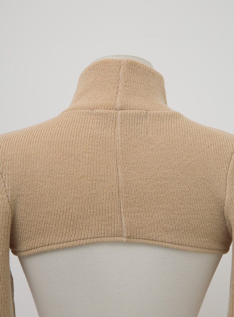 Extended Sleeve Layering Knit Top