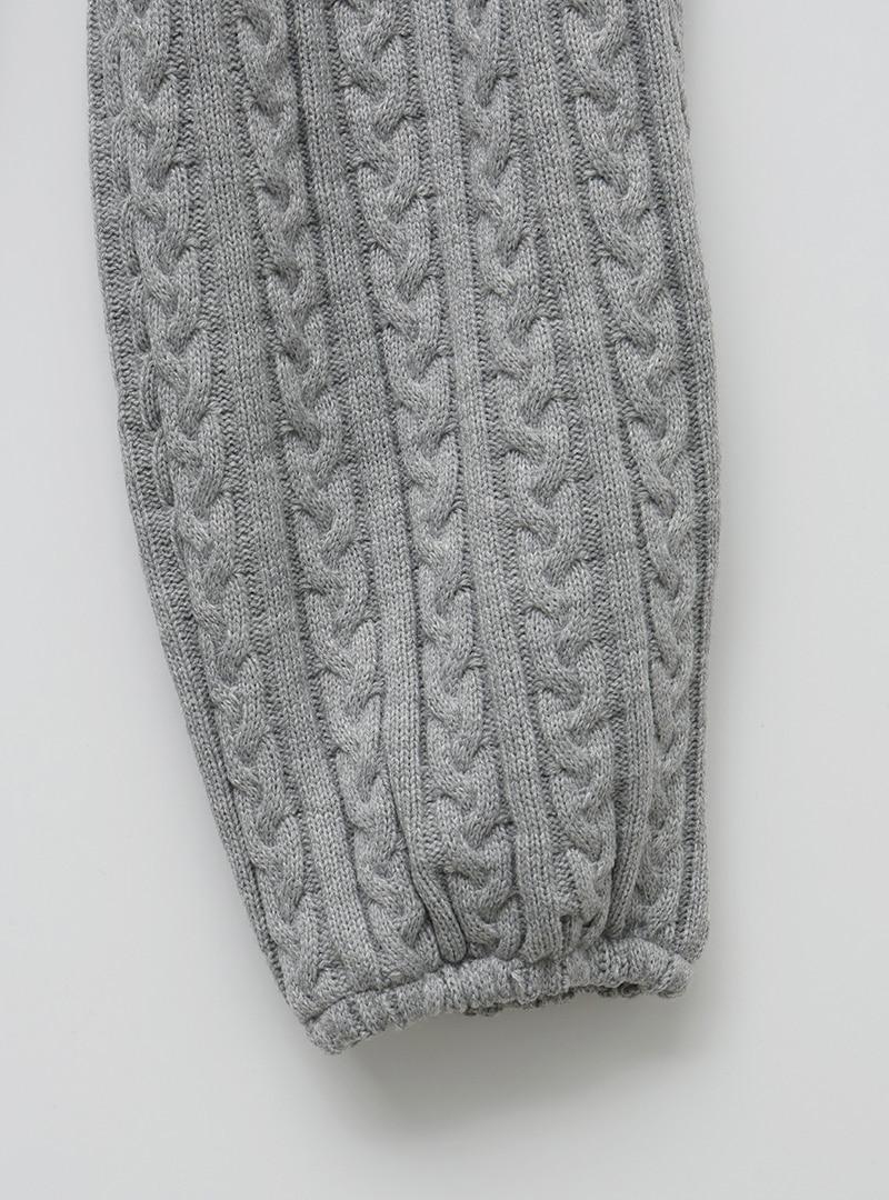 Cable Knit Jogger Pants