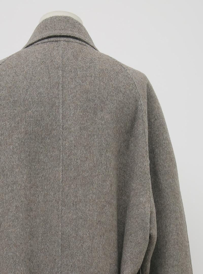Single-Breasted Tie-Waist Midaxi Coat