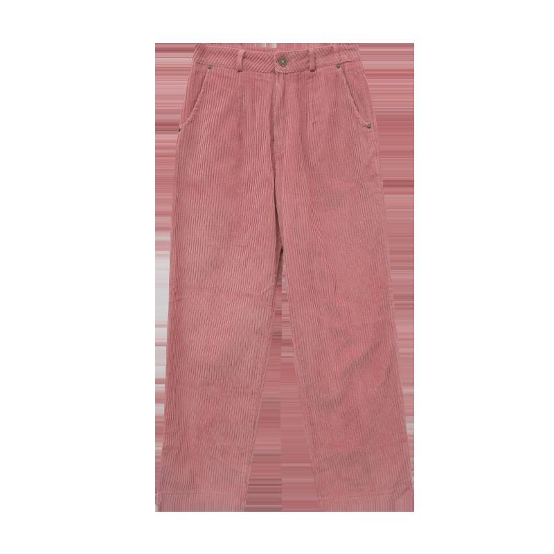 Straight Corduroy Pants