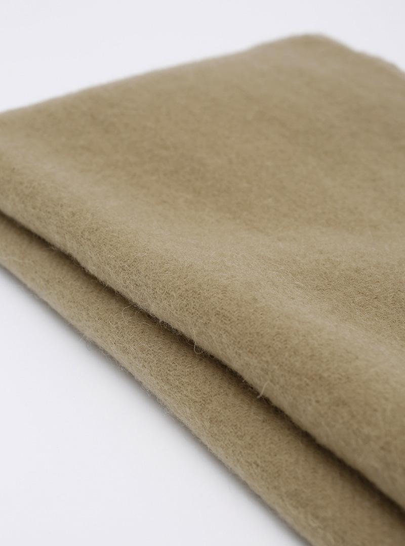標籤裝飾柔軟流蘇圍巾