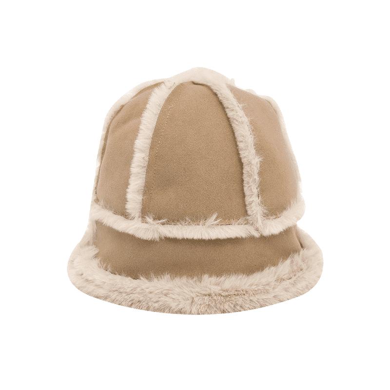 Faux Shearling Bucket Hat
