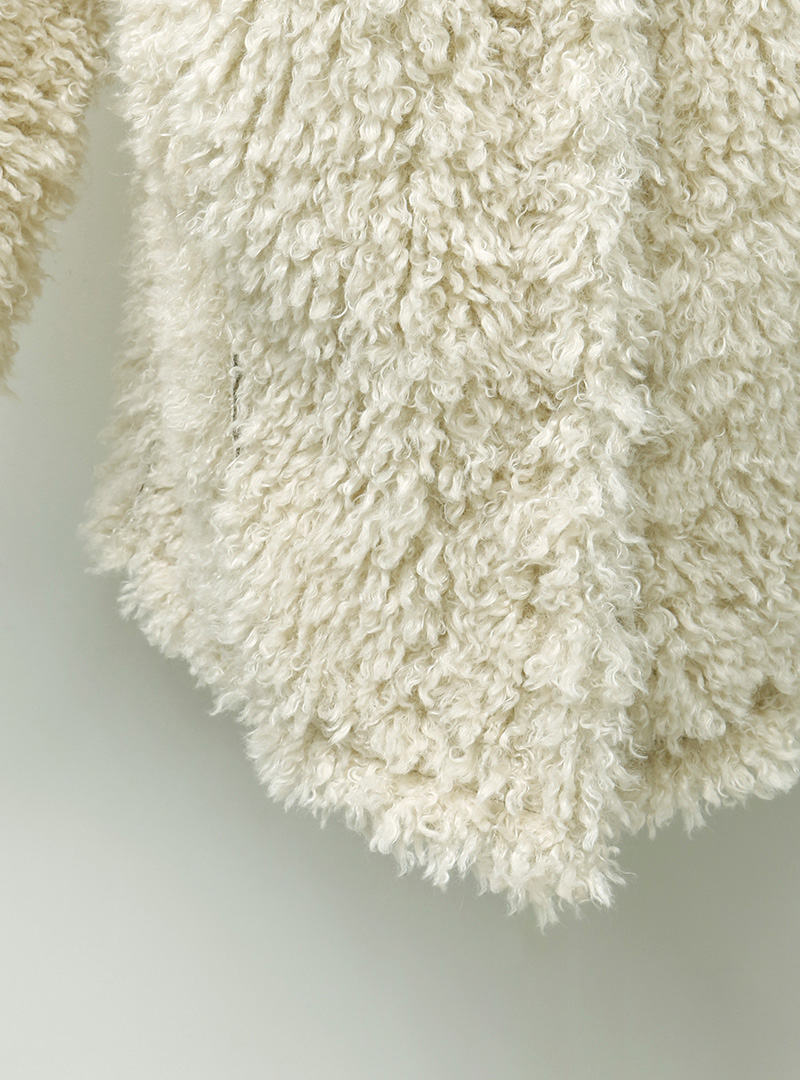 Reversible Mid-Thigh Coat