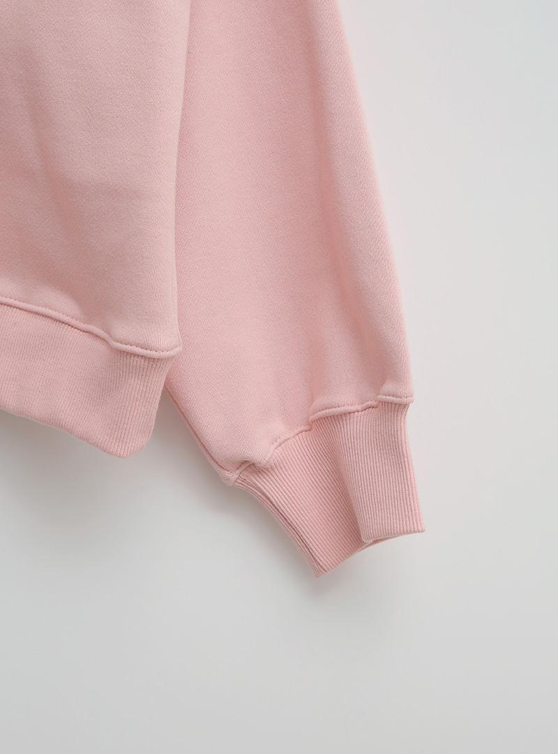 Solid Tone Fleece Lined Sweatshirt