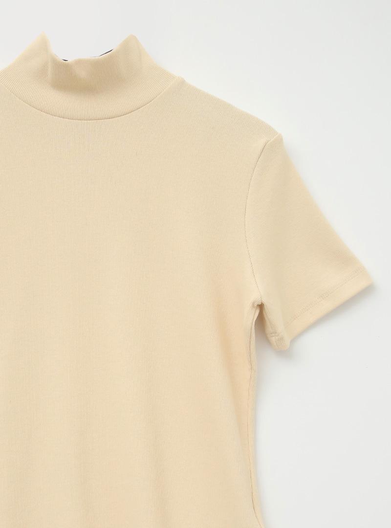 Short Sleeve High Neck T-Shirt