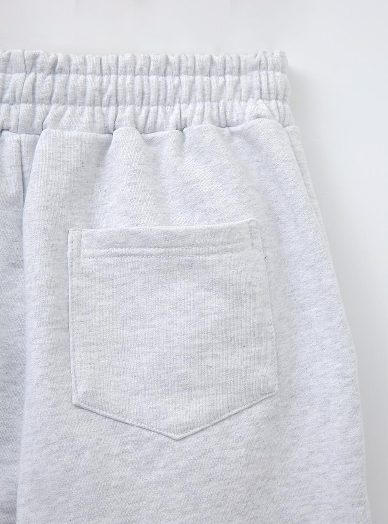 Drawstring Waist Loose Fit Sweatpants
