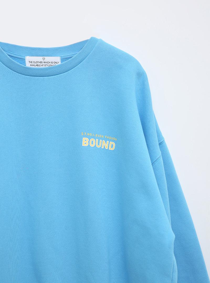 BOUND Printed Sweatshirt