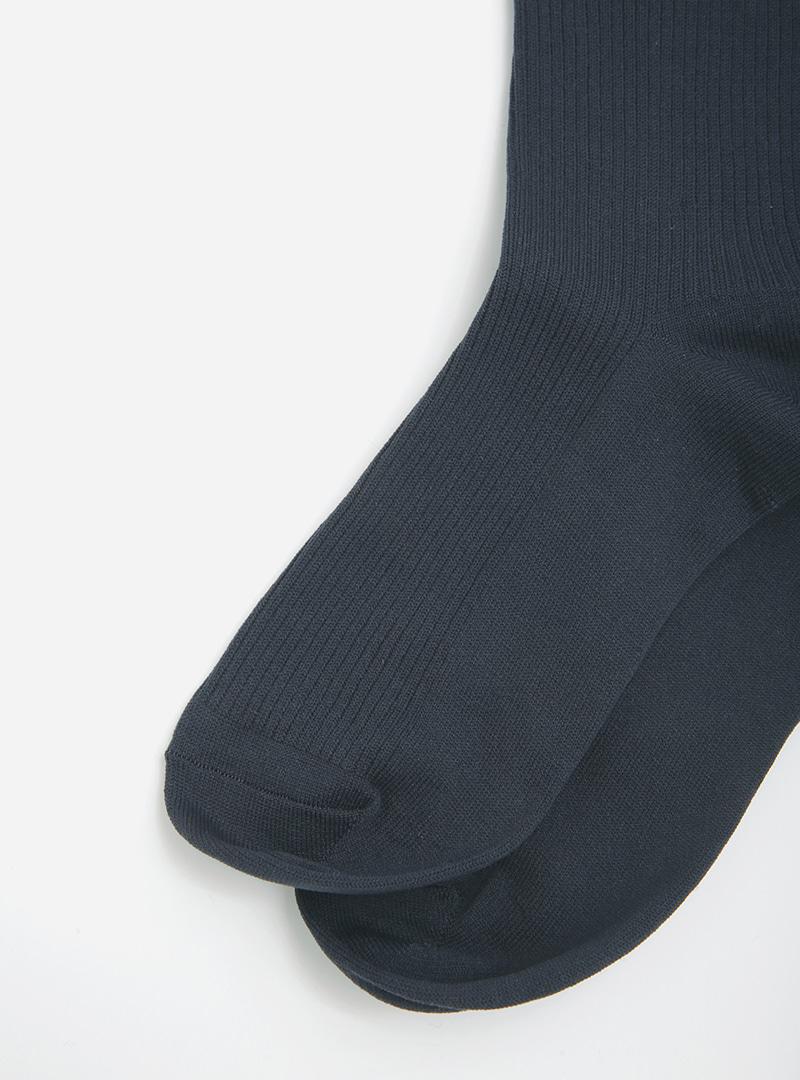 Basic Solid Tone Mid-Calf Socks