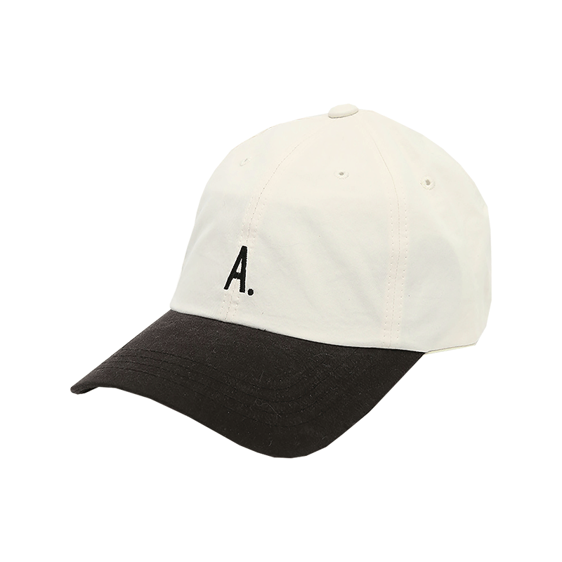 Embroidered Two-Tone Baseball Cap
