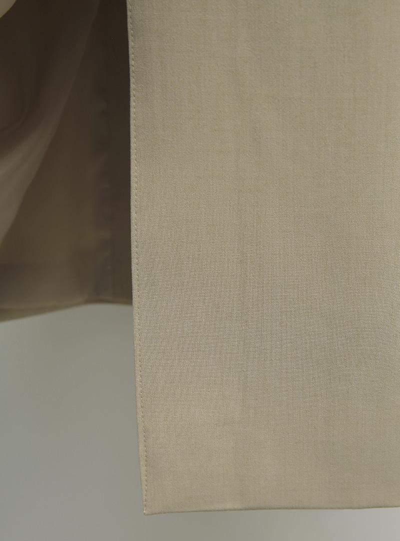 Peak Lapel Double-Breasted Midaxi Coat