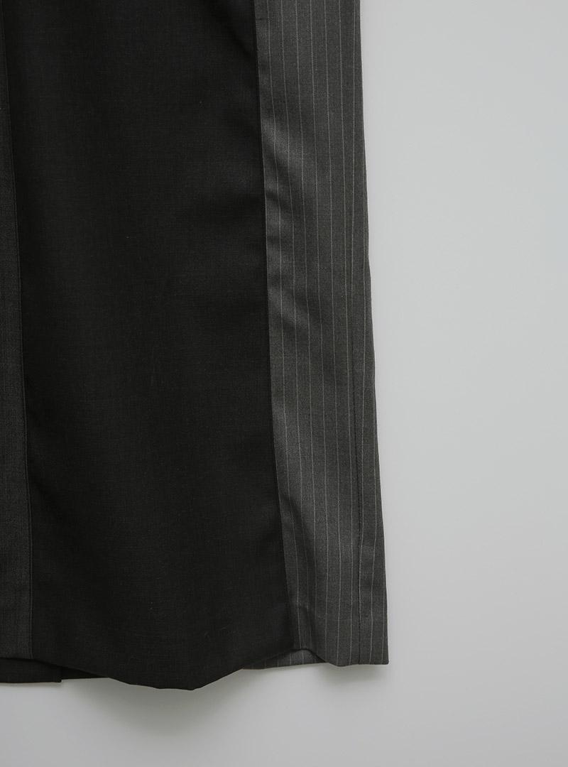 톤인톤배색 절개베스트롱OPS