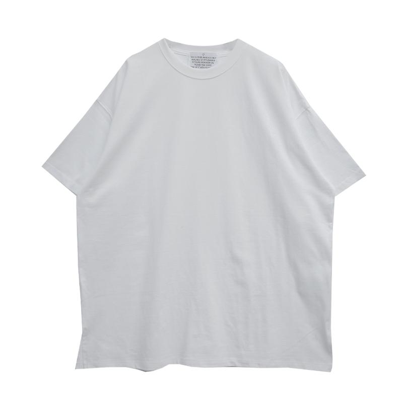 Side Slit Boxy T-Shirt