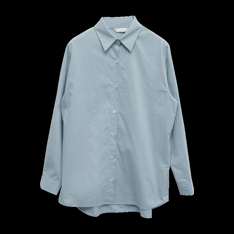 톤온더무드 풀백버튼셔츠