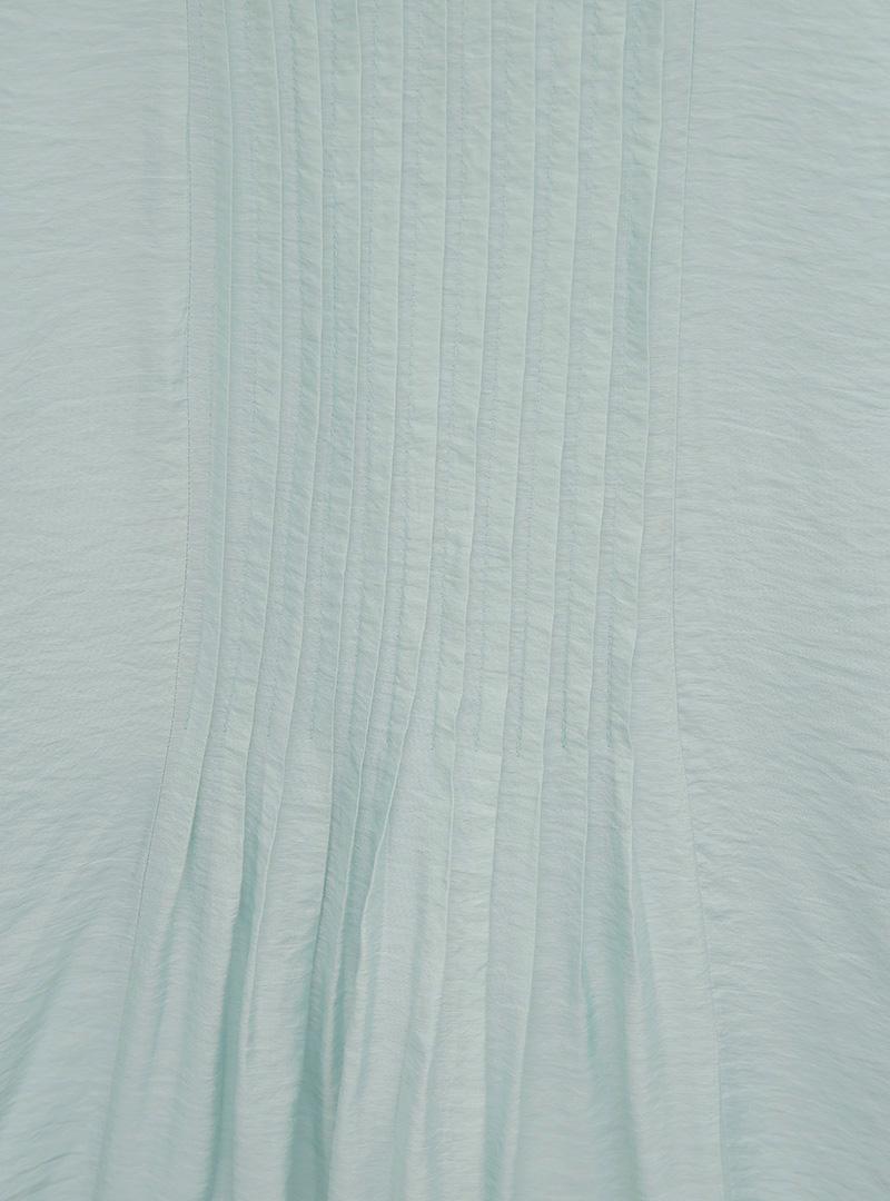 소프트핀턱라인 노슬리브원피스