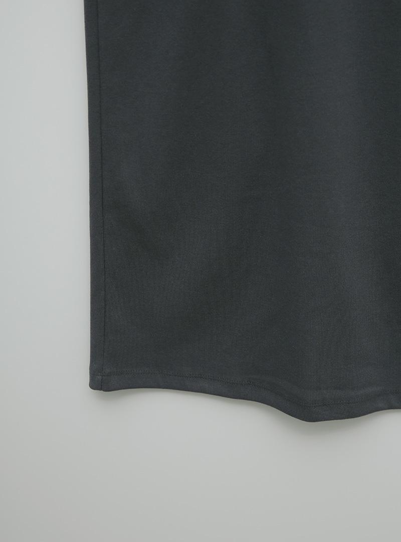 로지배색골지 원피스롱팬츠 (set)