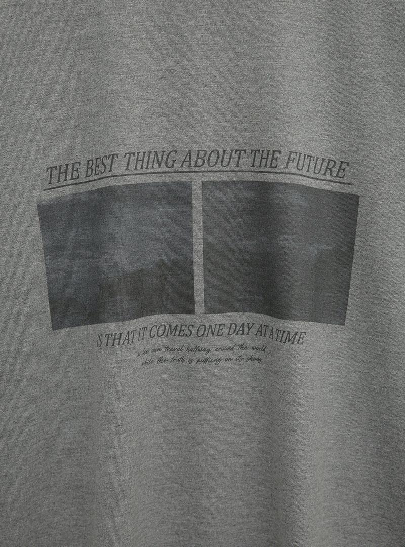 Image and Statement Print T-Shirt