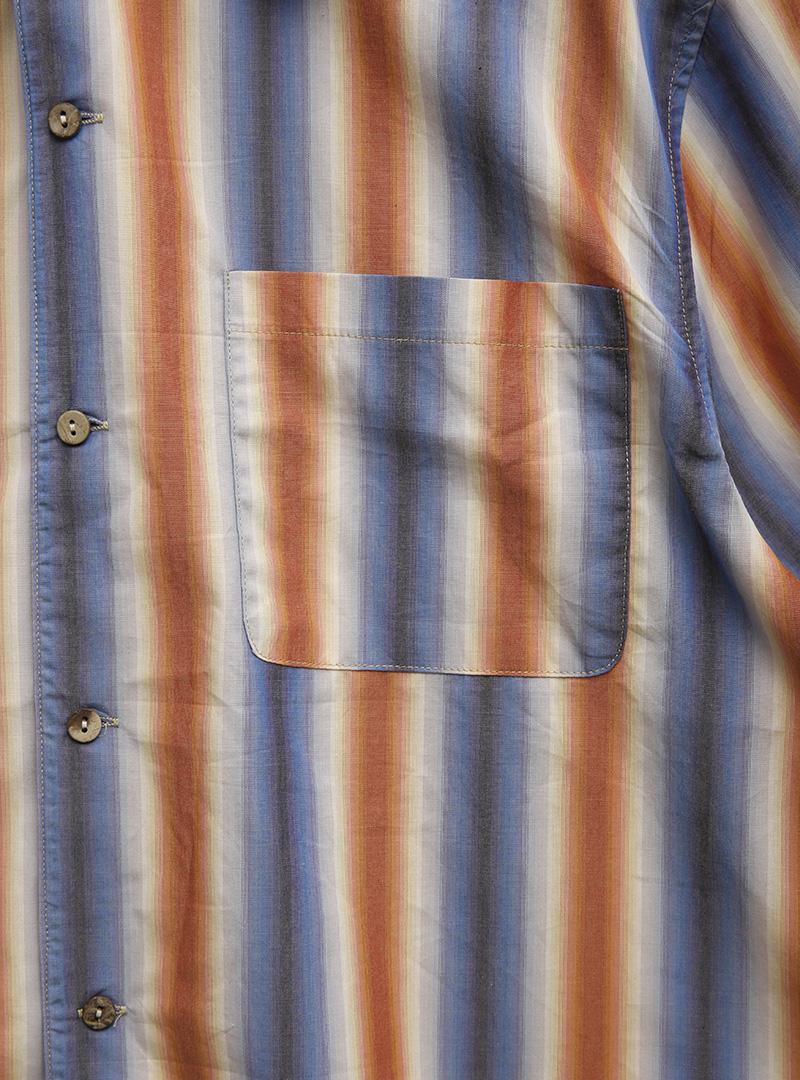 Striped Half-Sleeved Shirt