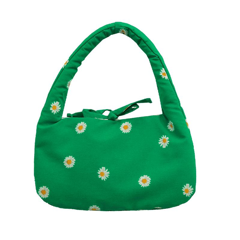 Daisy Pattern Mini Handbag