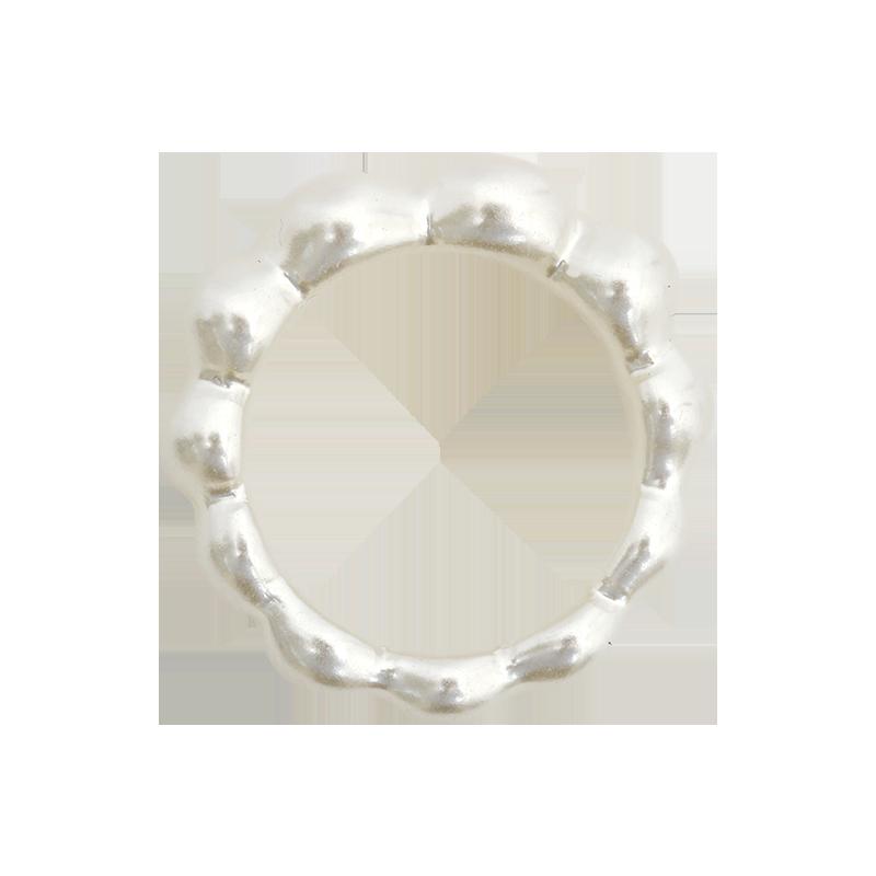立體幾何狀寬版戒指